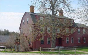 The Pilgrim's Inn on Deer Isle, former home of Ignatius Haskell.  Built in 1793 and listed on the National Register of Historic Places.